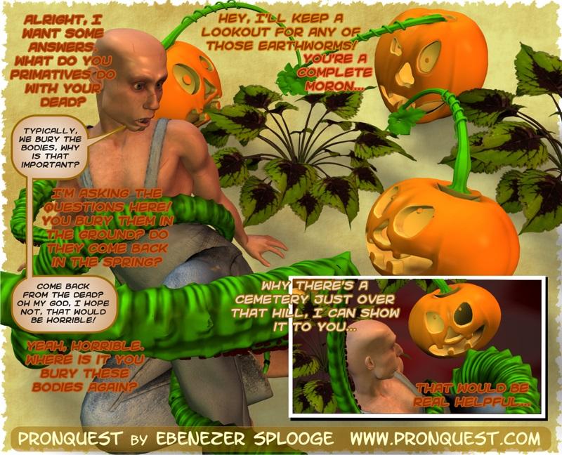 Hentai Tentacle Pumpkin Small Talk