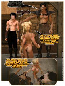 ecchi hentai dp dungeon foreplay