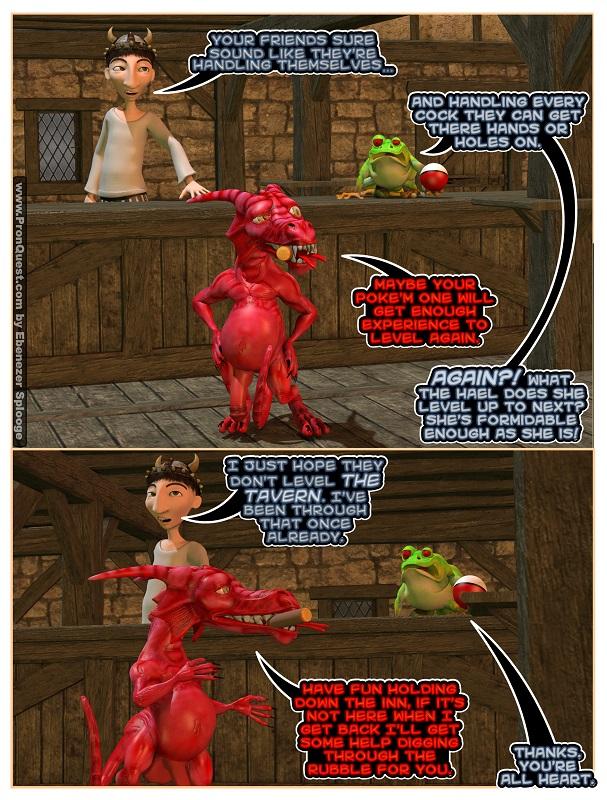 Secret Pokemon Go Porn Attack to Level the Tavern.