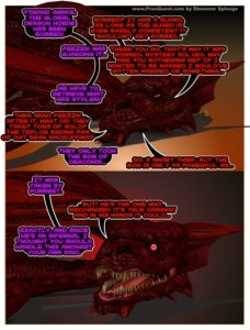 dragon epic fantasy hentai art